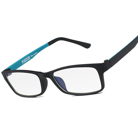 2015 New Brand   Reading Glasses Men Woman Computer UV Glasses Fatigue Radiation Wayfarer Myopia Frame Black White Bule 1302