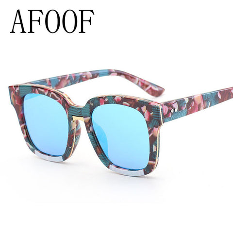 AFOOF 2016 Fashion Star Style Sunglasses Vintage Luxury Brand Designer Women Sun Glasses UV400 Retro Men Eyewear Oculos de sol