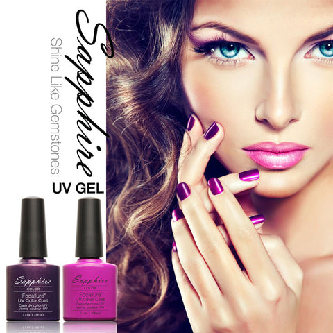 Choose one Sapphire Nail Gel Newest 80 Fashion UV Gel Polish 7.3 ML Shellac