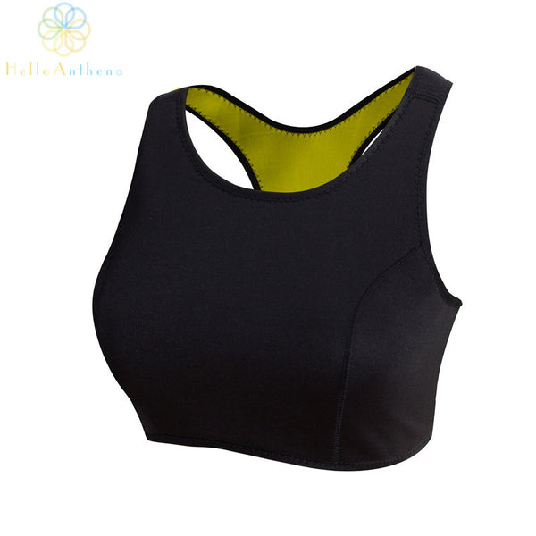 Neoprene Loose weight hot shaper Bra Tops Thermo Shapers work Women sports vest fitness vestidos 2015 dresses with running plus