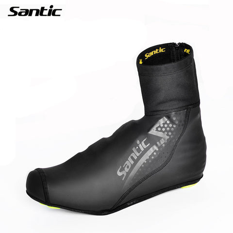 2015 Santic Cycling Shoes Cover MTB Road Bike Bicycle Overshoes Winter  Windproof  Waterproof Bike Cycling Cover Shoes 5C09047
