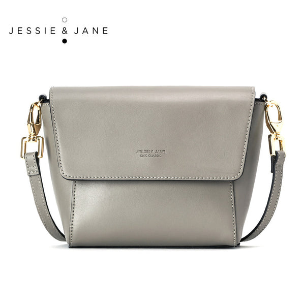 Jessie Jane Women Messenger Bags 2016 Designer Brand Casual Genuine Leather Bags
