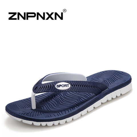 2014 New  Fashion Casual Summer Sandals For Men Genuine Leather Canvas Sandals In Blue White Massage Breathable Big Size US 7-9