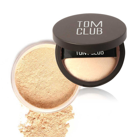 4Colors Face Makeup Powder Loose Face Care Beauty Brighten Press Contour Makeup Bronzer Cosmetics by TOMCLUB