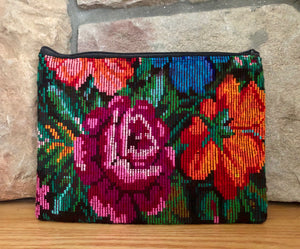 Rosa Zippered Pouch 001