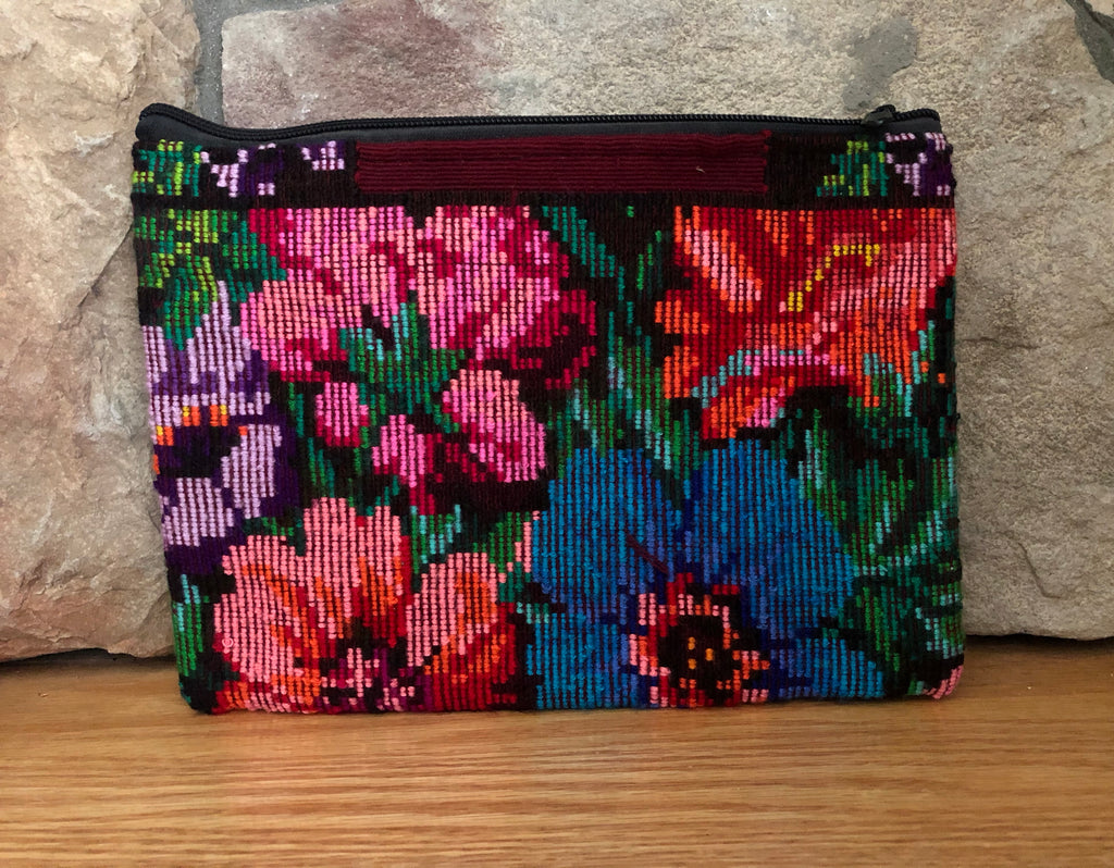 Rosa Zippered Pouch 002