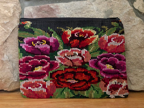 Rosa Zippered Pouch 003