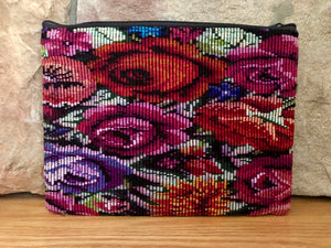Rosa Zippered Pouch 004