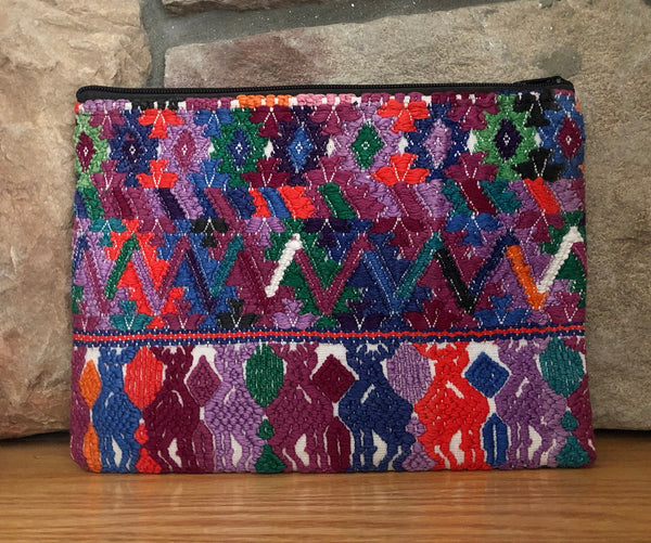 Rosa Zippered Pouch 005