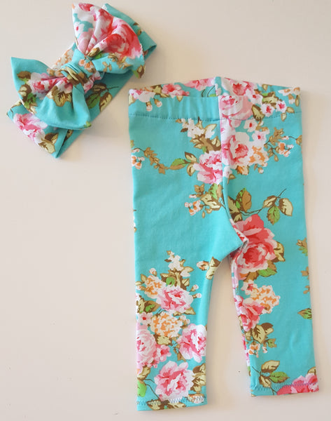Spring Roses Leggings