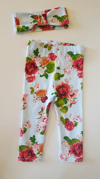 Baby Bree Floral Leggings