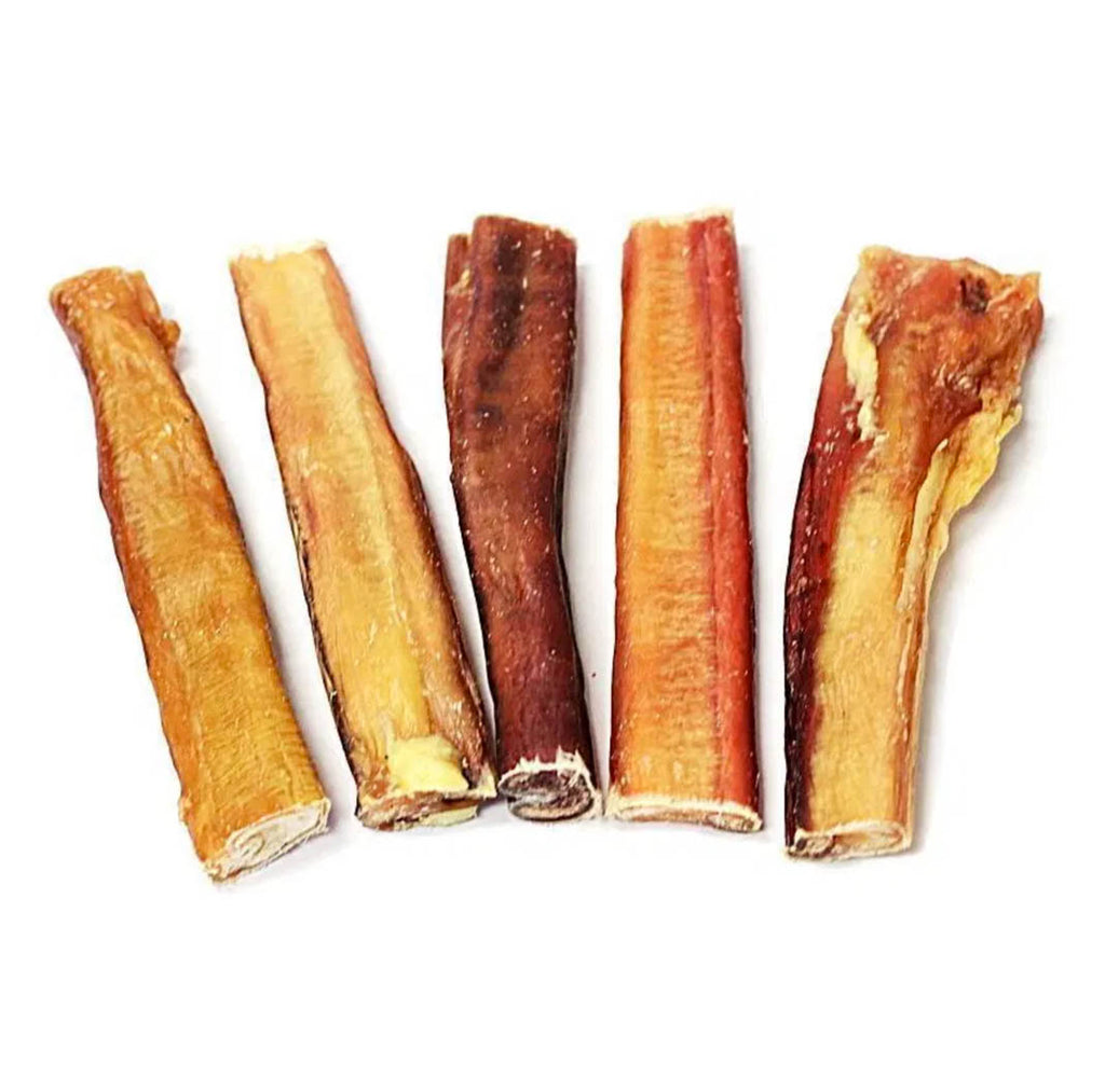 6 inch Jumbo Bully Sticks Odor Free