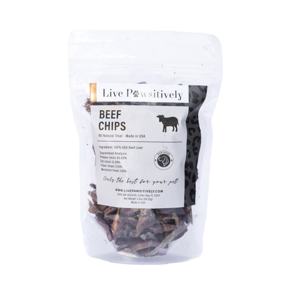 Freeze Dried Beef Chips