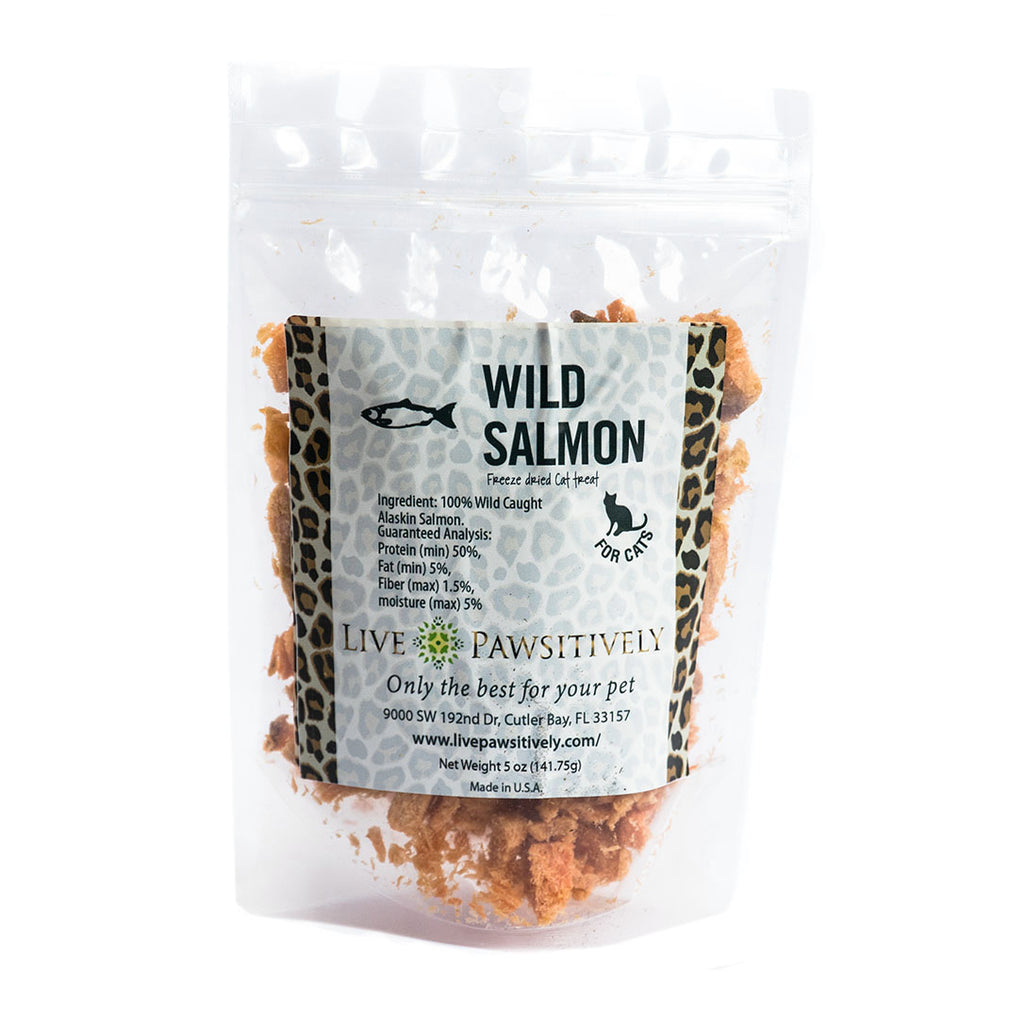 Wild Salmon for Cats