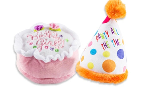 Birthday Girl's Plush Toys