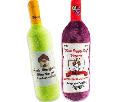 Wine Lovers Dog Toys
