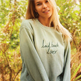 Personalised Sweater in Topanga Green