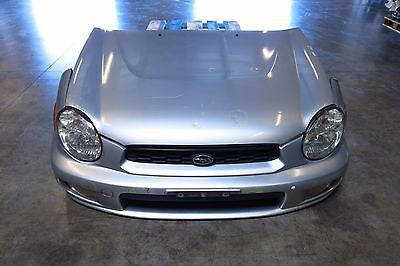 JDM 00-03 Subaru Impreza GD GG Bugeye Front Nose Cut Hood Bumper Headlights - JDM Alliance