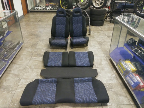 JDM RHD 96-00 Civic EK4 VTi SiR Seats Hatchback Honda EK3 EK4 EK9 - JDM Alliance LLC
