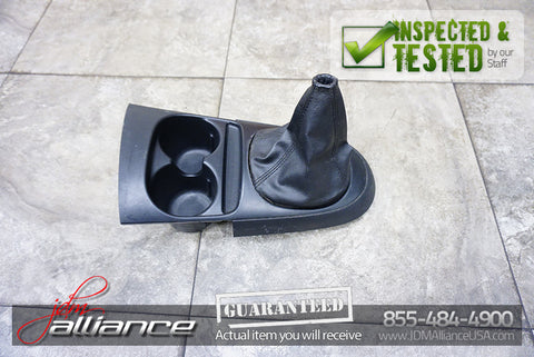 JDM 02-06 Honda Integra Acura RSX DC5 Center Shifter Console Boot Cup Holder RHD