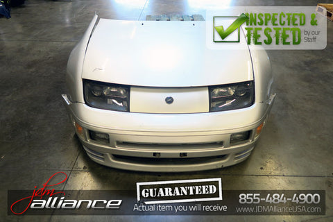 JDM 90-96 Nissan 300ZX Twin Turbo Front End Nose Cut Headlight Bumper VG30DETT - JDM Alliance LLC
