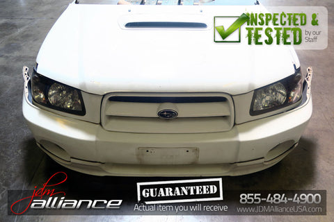 JDM 02-06 Subaru Forester SG5 Turbo Nose Cut Conversion Front End