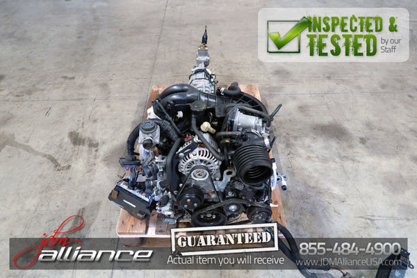 JDM 03-08 Mazda RX8 13B MSP Renesis 6 Port Rotary Engine 6 Speed Manual RWD Trans RX-8