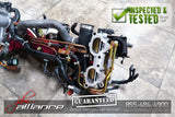JDM Subaru WRX STi EJ207 V8 V9 Intake Manifold Yellow Fuel Injectors Throttle - JDM Alliance