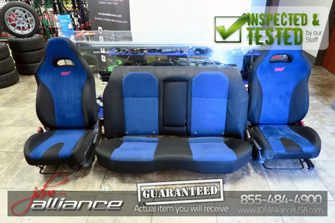 JDM 06-07 Subaru Impreza WRX STi Version 9 OEM Seats Front & Rear GD - JDM Alliance