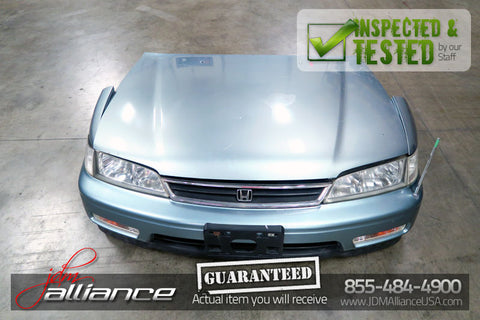JDM 94-97 Honda Accord Front End Nose Cut Hood Bumper Headlights - JDM Alliance LLC