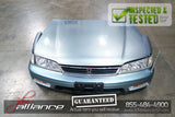 JDM 94-97 Honda Accord Front End Nose Cut Hood Bumper Headlights - JDM Alliance