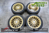 JDM OZ Racing Wheels 5x100 17x7 +48 Offset Subaru Rims - JDM Alliance