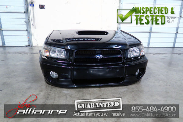 JDM 03-05 Subaru Forester SG5 Turbo Nose Cut Conversion Front End - JDM Alliance