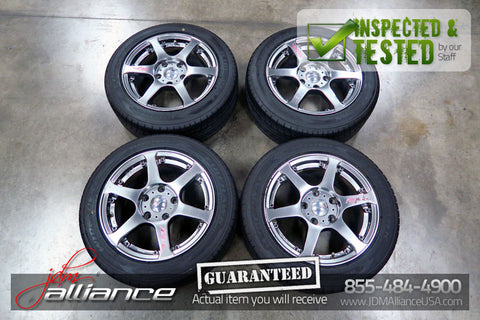 "JDM Team 5Zigen Fireball 5x114.3 15x7JJ ET42 15"" Wheels Rims - JDM Alliance LLC"
