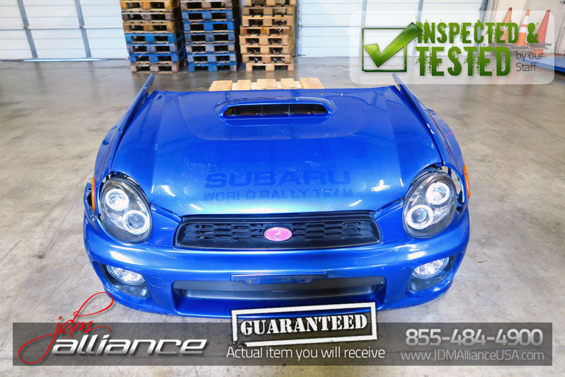 jdm 02 03 subaru impreza wrx sti version 7 front end conversion