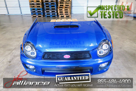 JDM 02-03 Subaru Impreza WRX STi Version 7 Front End Conversion