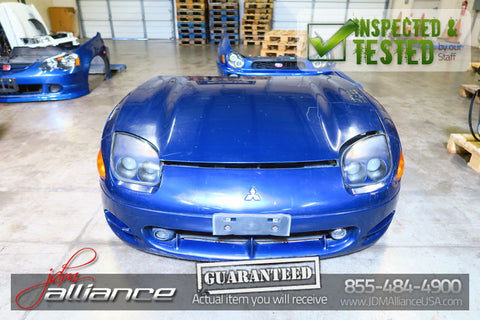 JDM Mitsubishi 3000GT GTO VR4 OEM Front End Conversion Nose Cut Bumper Headlights