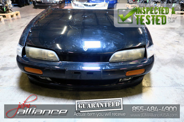 JDM 94-96 Nissan Silvia S14 Zenki Nose Cut 240SX Hood Bumper Headlight Front End - JDM Alliance