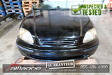 JDM 96-00 Honda Civic SiR EK4 Front Clip w/ B16A Engine DOHC VTEC - JDM Alliance