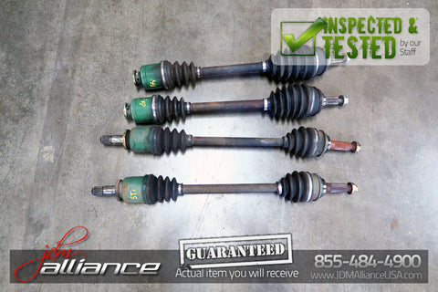 JDM 02-07 Subaru WRX STi EJ207 Front and Rear Axles Set CV Joint R180 - JDM Alliance