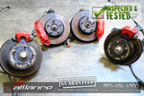 JDM 02-04 Honda Acura RSX Type R DC5 Front & Rear Brembo Brakes Calipers Integra - JDM Alliance LLC