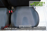 JDM 02-05 Subaru Impreza WRX OEM Front Black Seats w/ Railings and Sliders - JDM Alliance