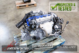 JDM 97-01 Honda Prelude F22B 2.2L DOHC obd2 Engine 5 Speed M2A4 Transmission - JDM Alliance