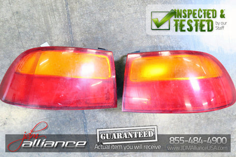 JDM 92-95 Honda Civic SiR EG6 Hatchback Tail Gate  Tail Lights Roof Spoiler - JDM Alliance