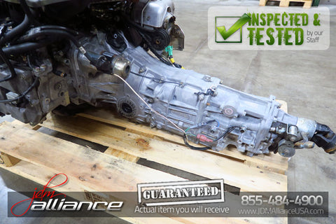 JDM 04-06 Subaru Legacy GT 5 Speed AWD Transmission TY757VBABB 4.44 Ratio EJ20 - JDM Alliance