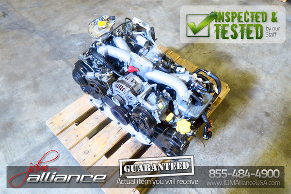 JDM 02-05 Subaru Forester EJ205 2.0L Quad Cam AVCS Turbo Engine Impreza WRX EJ20 - JDM Alliance