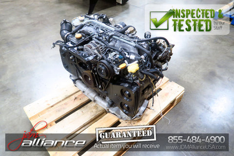 JDM Subaru Legacy GT EJ20 2.0L Twin Turbo Engine EJ20TT Motor - JDM Alliance LLC
