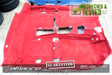 JDM Honda Acura RSX Type R DC5 OEM Red Floor Carpet - JDM Alliance