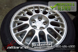 "JDM 01-03 Mitsubishi Lancer EVOLUTION 7 OEM 17"" Wheels Rims w/ Tires CT90 - JDM Alliance"