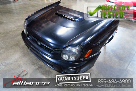 JDM 02-03 Subaru Impreza WRX STi Version 7 Nose Cut Conversion Bugeye EJ207 v7 - JDM Alliance